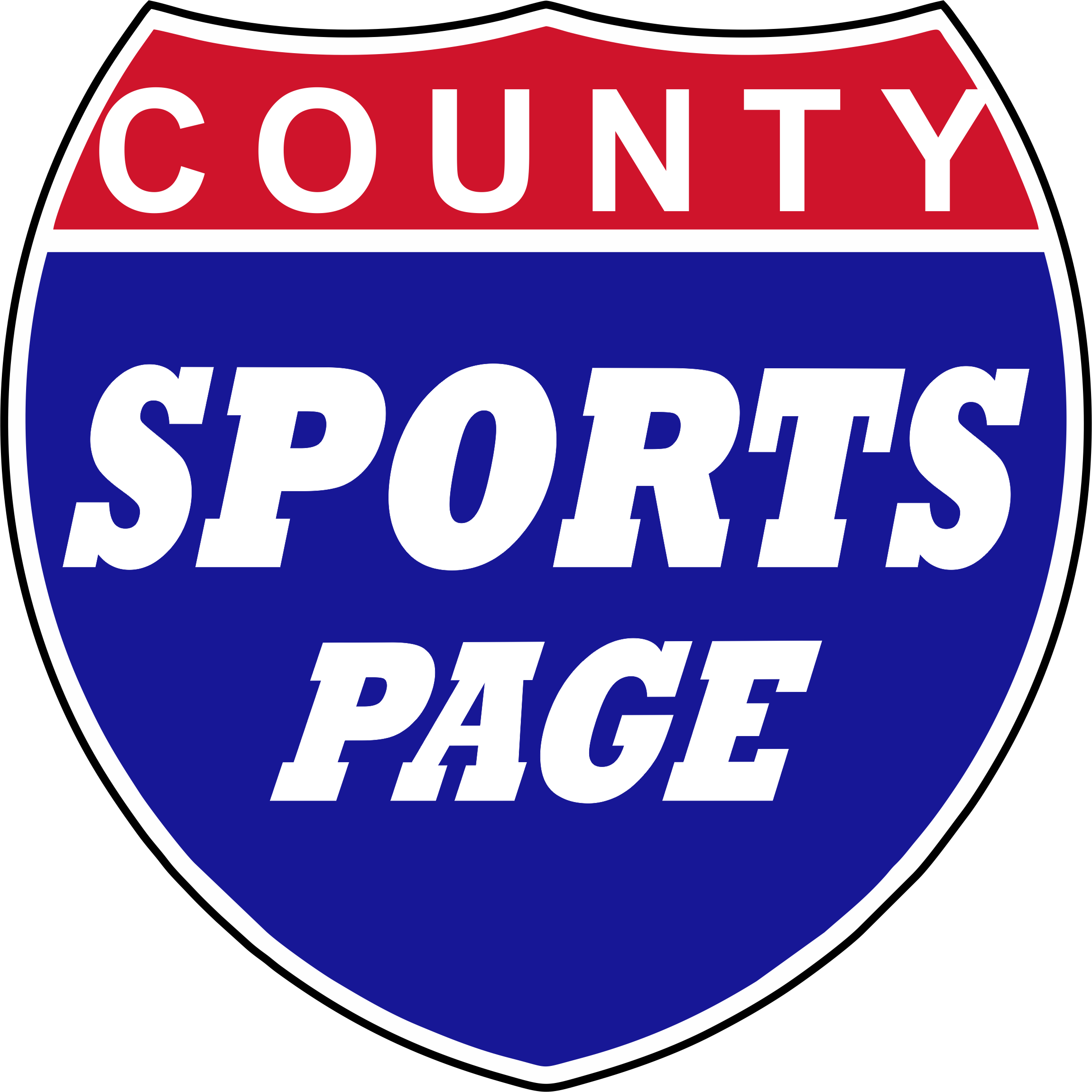county sports page logo